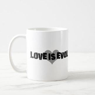 Love Evol Classic White Coffee Mug