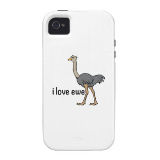 Love Ewe Vibe iPhone 4 Cover