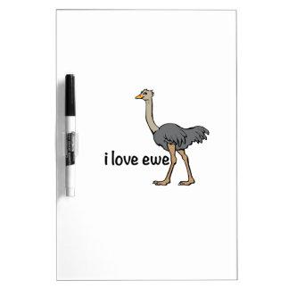 Love Ewe Dry Erase Whiteboards