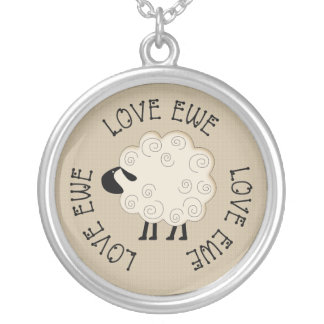 Love Ewe Folkart Necklace