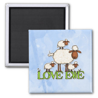 love ewe fridge magnets
