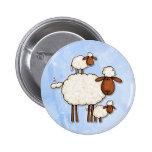love ewe (no txt) 2 inch round button