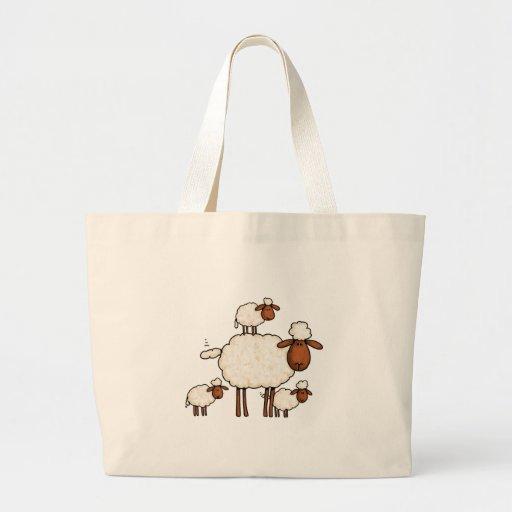 love ewe (no txt) tote bags