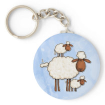 love ewe (no txt) keychain
