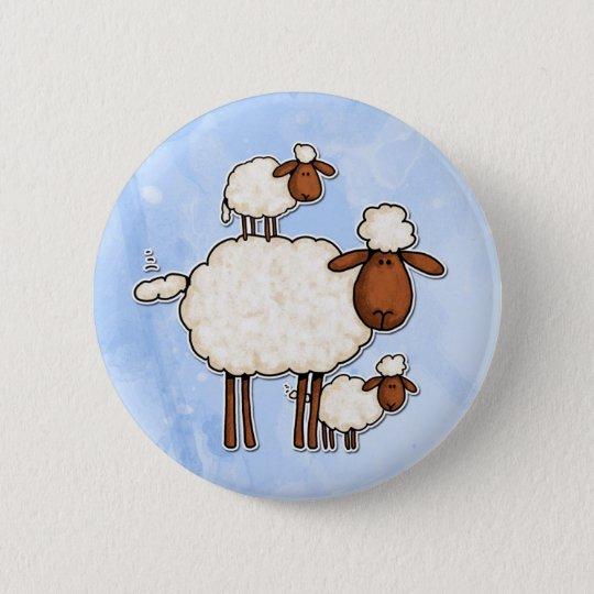 love ewe (no txt) pinback button