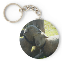 Love Ewe Sheep Keychain