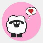 Love Ewe Stickers