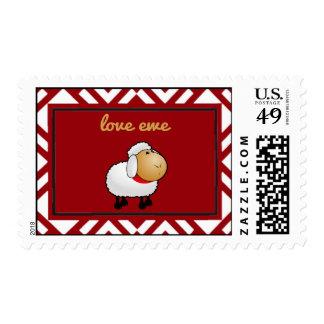 Love Ewe (you) Postage