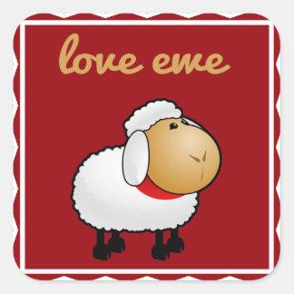 Love Ewe (you) Sticker