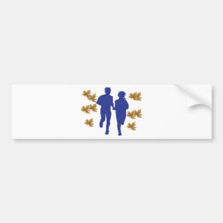 Love exercise bumper sticker