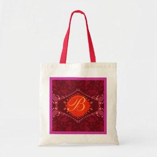 Love Exotic Lace Monogram Bag
