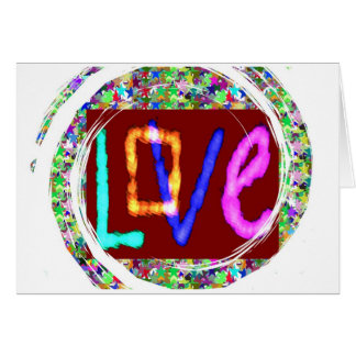 LOVE expression : Now Rise in LOVE n go expand it Card