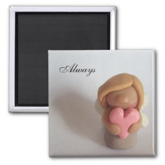 Love Fairy - Always 2 Inch Square Magnet