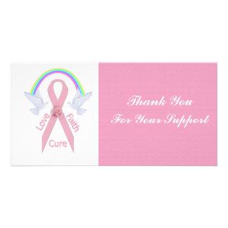 Love Faith Cure Photo Greeting Card