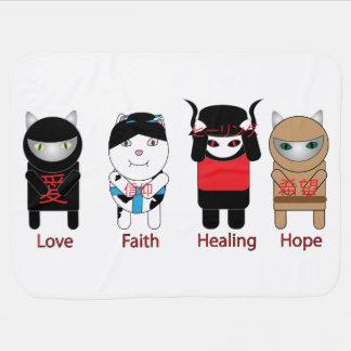 Love Faith Healing Hope Stroller Blankets