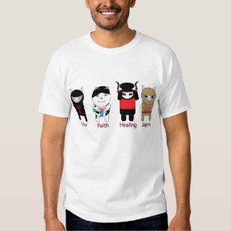 Love Faith Healing Japan Shirt
