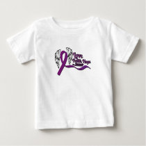 Love Faith Hope Pancreatic Cancer Baby T-Shirt