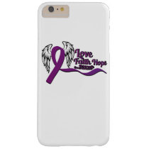 Love Faith Hope Pancreatic Cancer Barely There iPhone 6 Plus Case