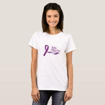 Love Faith Hope Pancreatic Cancer T-Shirt