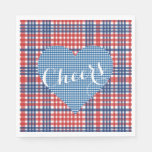 Love Fall Country Kitsch Wedding Party Napkins