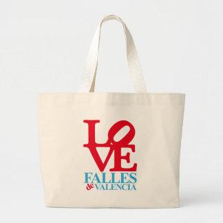 LOVE FALLES SINGLE BOLSA TELA GRANDE
