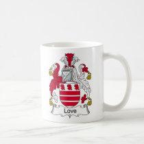 Love Family Crest Mug