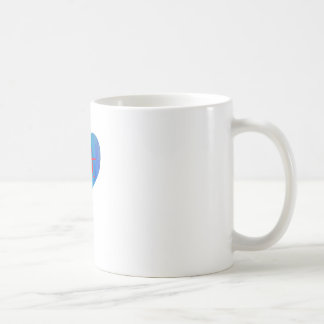Love Fat (Blue and Red) Mug