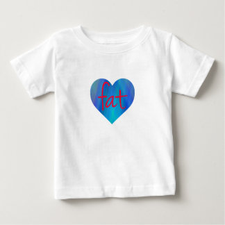 Love Fat (Blue and Red) T Shirts