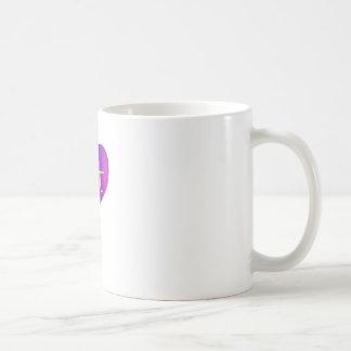 Love Fat (Purple and Yellow) Mug