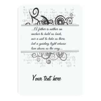 Love Father-Guiding light Card