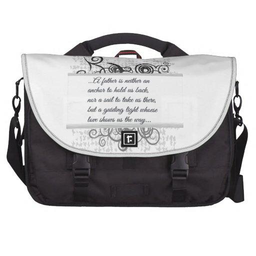Love Father-Guiding light Computer Bag