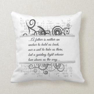 Love Father-Guiding light Throw Pillow