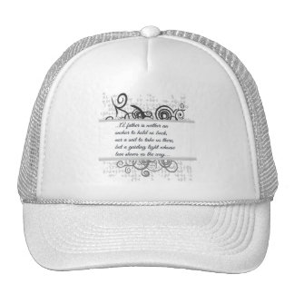 Love Father-Guiding light Trucker Hat