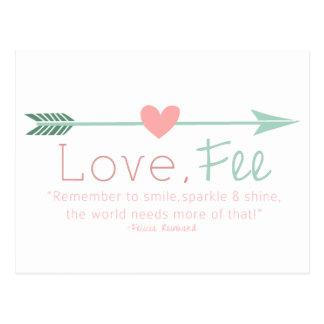 Love Fee Postcard