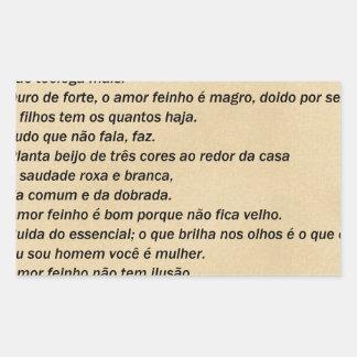 Love Feinho - Adélia the Prado
