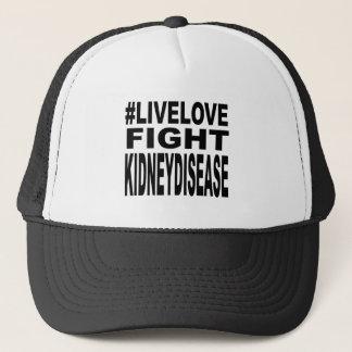 Love Fight Kidney Disease. Trucker Hat