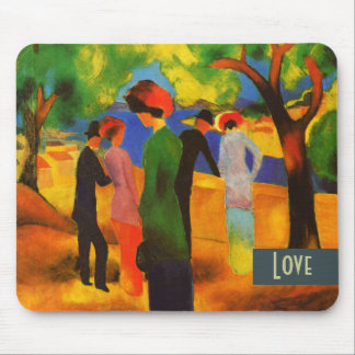 Love. Fine Art Valentine's Day Gift Mousepad