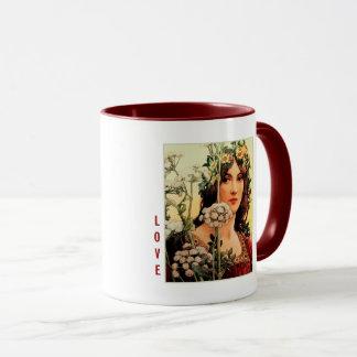 Love. Fine Art Valentine's Day Gift Mugs
