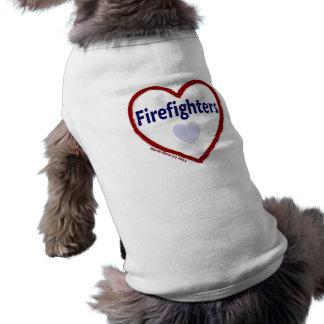 Love: Firefighters - Dog Shirt