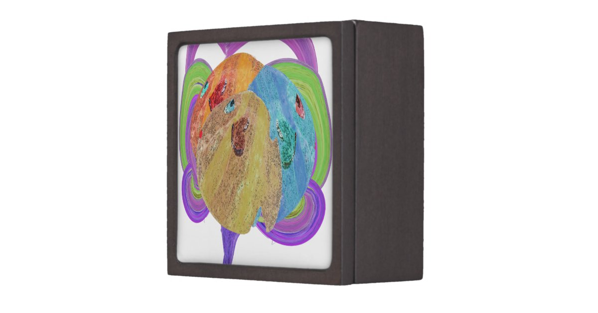 Love fish gift box zazzle for Fishing gift box