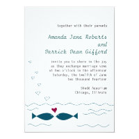 Love Fish Invitation