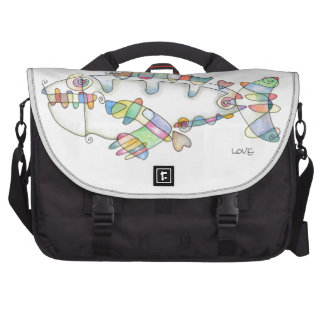 love fish love laptop bags