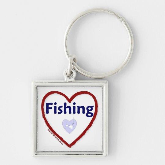 Love Fishing Keychain