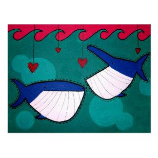 Love Fishing Postcard