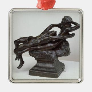 Love Fleeing, 1881 Metal Ornament