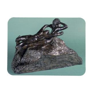 Love Fleeing, 1883-84 (bronze) Magnet
