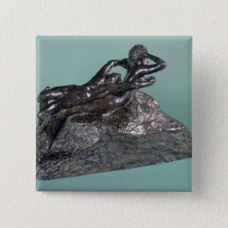 Love Fleeing, 1883-84 (bronze) Pinback Button