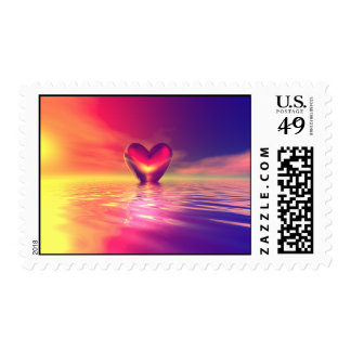 Love Floats Stamp