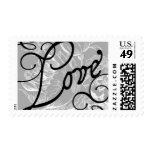 Love Floral C by Ceci New York Postage Stamps