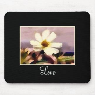 love floral mousepad